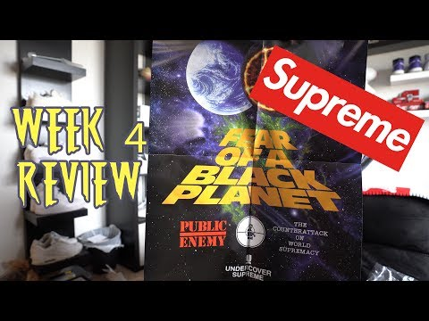 Supreme Public Enemy Review Week 4 S/S18 Pick Ups