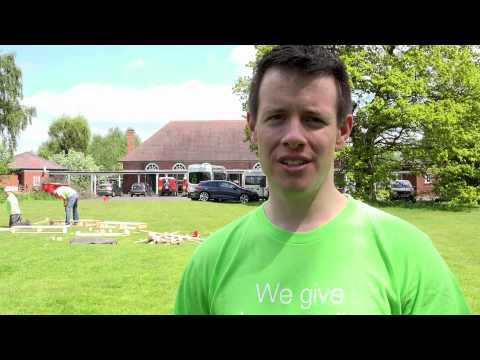 TELUS Days of Giving, UK at Kingswood Trust 2015