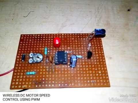 PWM BASED DC MOTOR SPEED CONTROL USING IR
