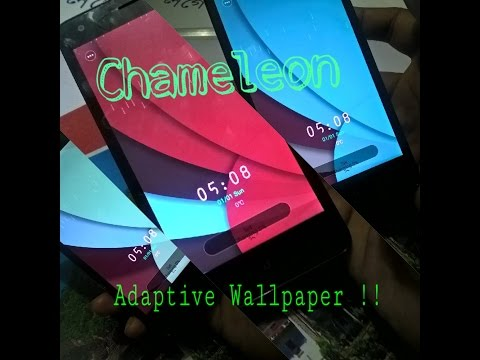 The Wallpaper that Adapts to it's Environment !!