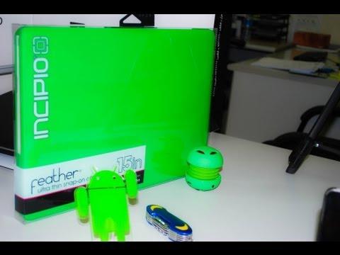 Unboxing Incipio Green Case mid 2012 Macbook Pro 15''