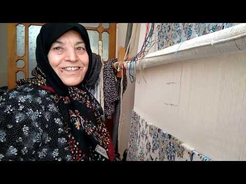Aunt Nahid Weaving Persian Rug - 2015