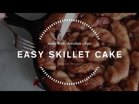 Chocolate Chip Skillet Cake
