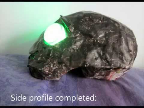 Tutorial - How to make a paper mache Dead Master Skull [FAIL]