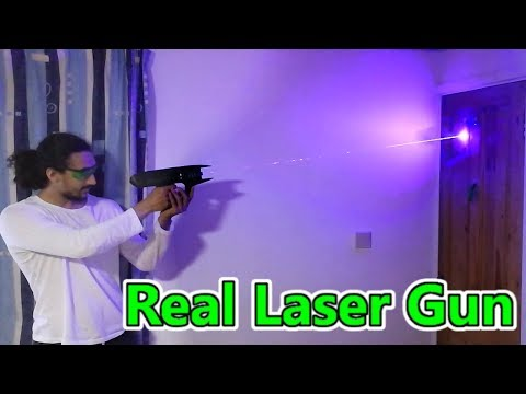 Building a Real Laser Gun