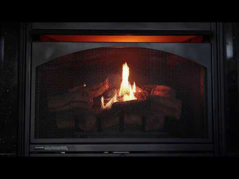 Fireplace Without Christmas Decorations