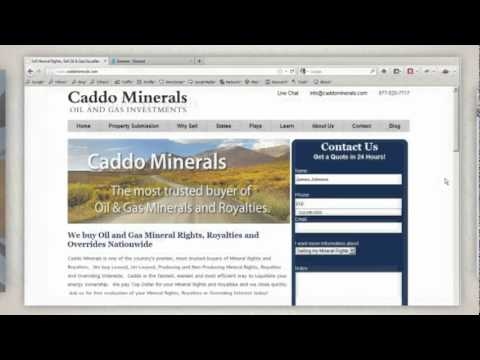 Sell Texas Oil & Gas Mineral Rights and Royalties. - http://www.CaddoMinerals.com