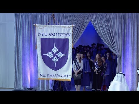 NYU Abu Dhabi 2017 Commencement Ceremony
