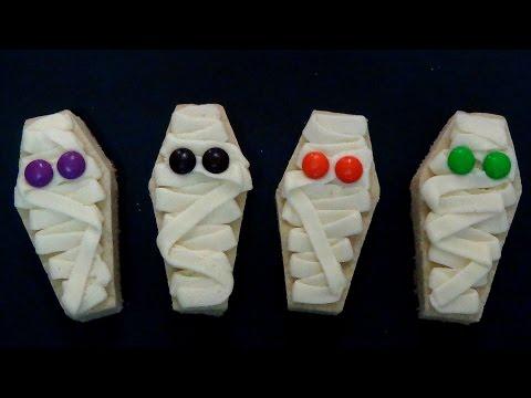 how to make sugar cookie mummy bars