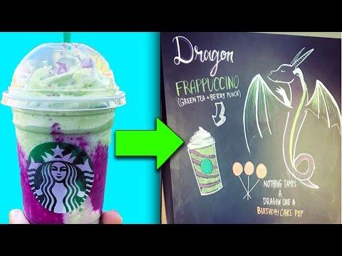 5 SECRET Starbucks Drinks You Won't Believe Exist!