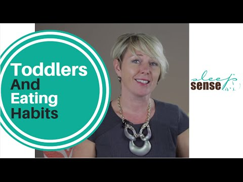 Toddlers And Eating Habits