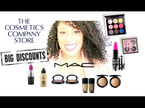 2016 Discount Mac Makeup Haul | The Cosmetic Company Store