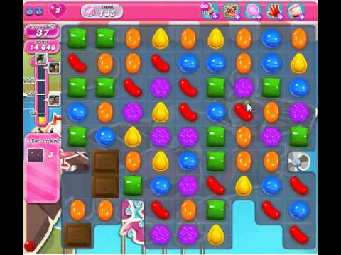 Candy Crush Level 135 Video 3/5