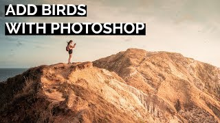 Add Birds to your Photo in Photoshop   Tutorial Tuesday