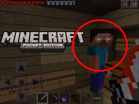 HEROBRINE IS REAL - Minecraft Pocket Edition | Seed