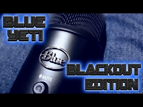 Blue Yeti Blackout Edition Overview and Best Settings to use IMO
