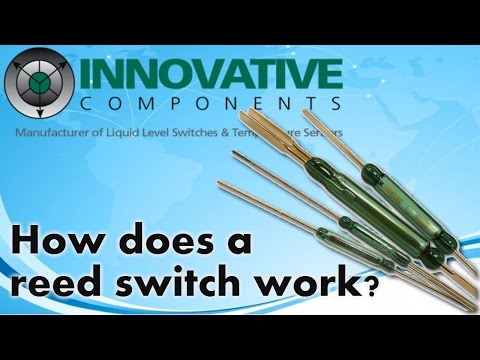 How does a reed switch work?