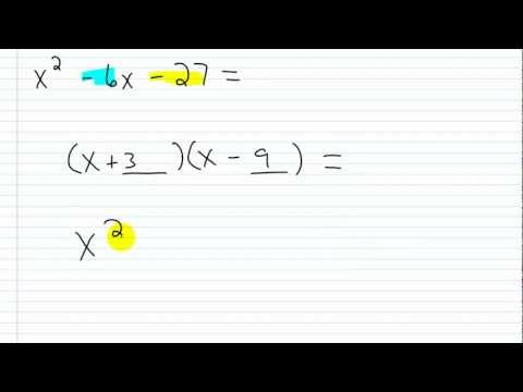 Factoring Practice | Factoring Trinomials with a Leading Coefficient of 1