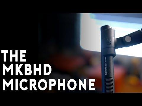 MKBHD's Microphone - the Sennheiser MKH 416