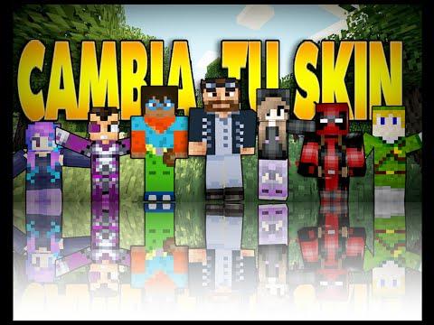 Como Cambiar el Skin de Minecraft 1.10/1.9/1.8.8 No Premiun | Todas las Versiones