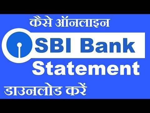 How to Download SBI Bank Statement in PDF Format