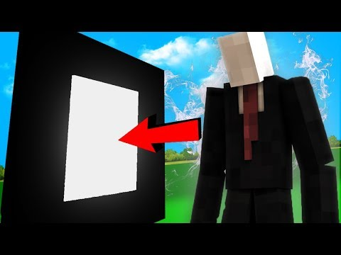 HOW TO MAKE A PORTAL TO SLENDERMAN! (Minecraft Portals)