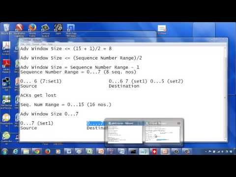 Relationship between Advertised Window Size and Sequence Number Space: Theory - Part 1