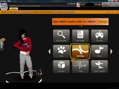 Imvu - How to hide your room location.