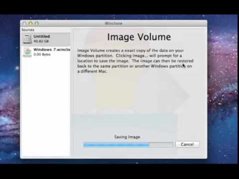 Winclone 3.0 for OS X - Image, Move, Resize Boot Camp Partition