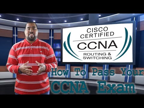 How To Pass The CCNA Exam From Cisco (ICND1 & ICND2)