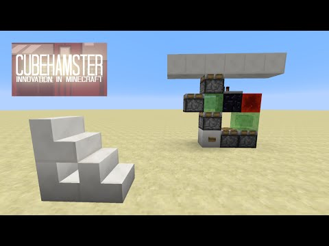 Minecraft Sharing is Caring #014: Pop-up Staircase & Double Extender