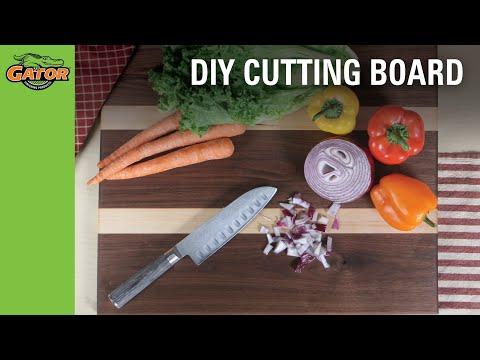 DIY Cutting Board l Butcher Block