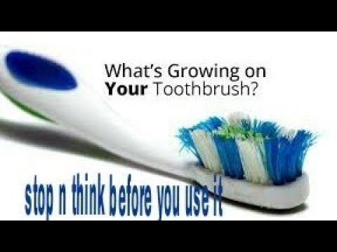How to get rid of GERMS ON TOOTHBRUSHES before brushing: simple DIY