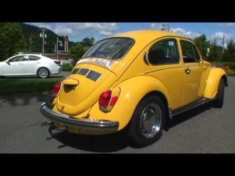 Classic 1972 VW Volkswagen Super Beetle Bug Sedan Type 1 Full Resto on Auction
