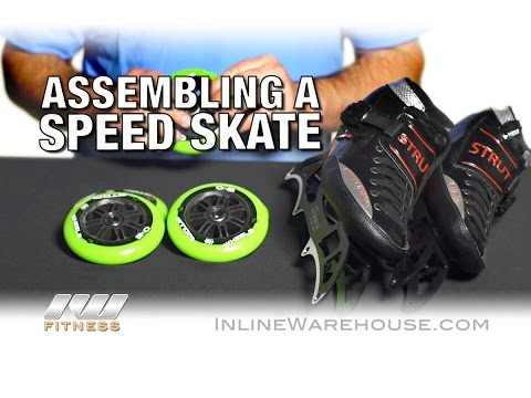How To Assemble Inline Speed Skates