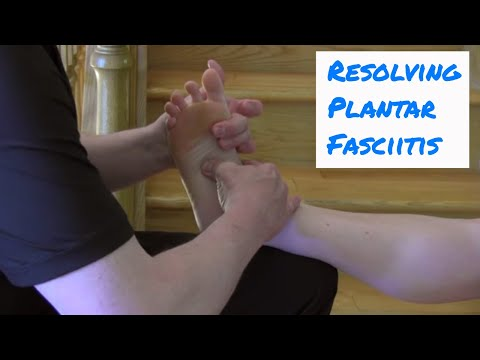 Treating Plantar Fasciitis - Motion Specific Release (MSR)