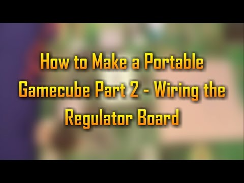 How to Make a Portable Gamecube Part 2 - Wiring the Resistor Board