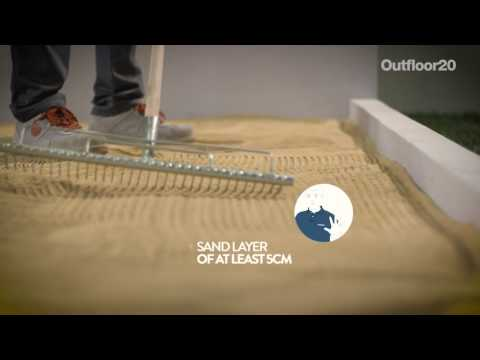 OUTFLOOR 20 - Dry laying on sand