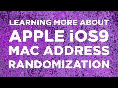 Learning More About: Apple iOS9 MAC Address Randomization - IT Dojo