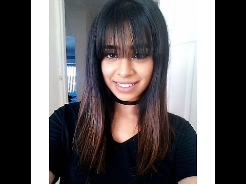 Hairstyles to hide Fringe/Bangs