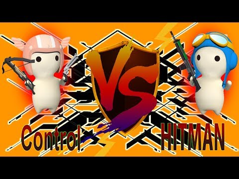HITMAN VS Control - Death Map [MilkChoco Clan Battle]