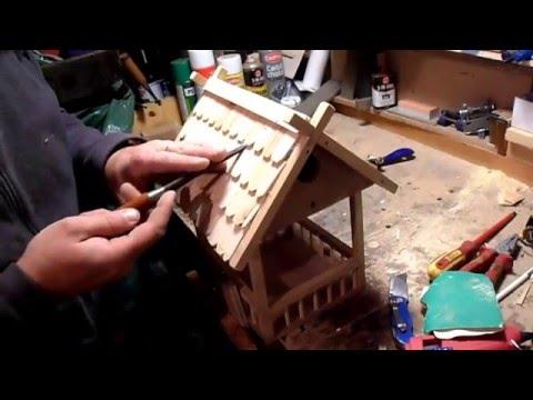 HOW TO MAKE BIRD HOUSE - FEEDER . Ako Vyrobit Vtaciu Budku - Krmitko