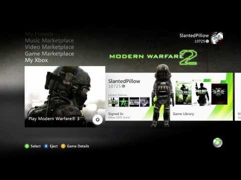 COD MW3 prestige hack tutorial Xbox 360WORKING USB