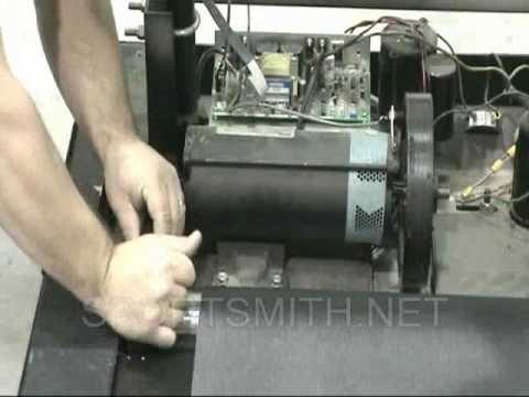 How to Replace a  Star Trac 4000 treadmill Drive Belt