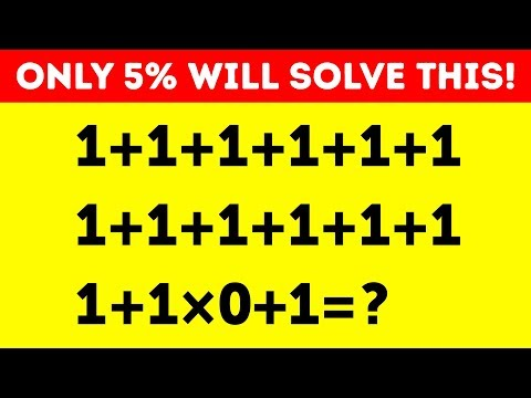 25 MATH RIDDLES TO BOOST YOUR BRAIN POWER