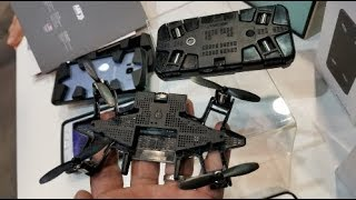 Cell phone case that hides a 1080p 60fps camera drone : CES 2018