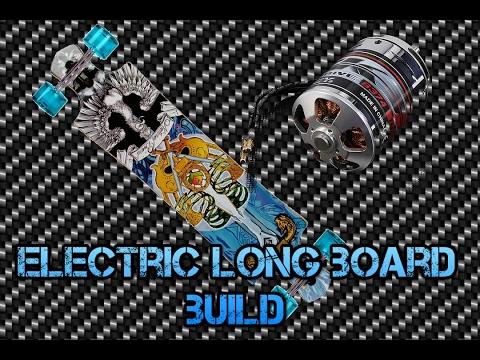 DIY ELECTRIC LONGBOARD BUILD