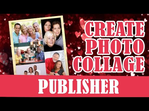 How To Create A Collage Page Using Microsoft Publisher