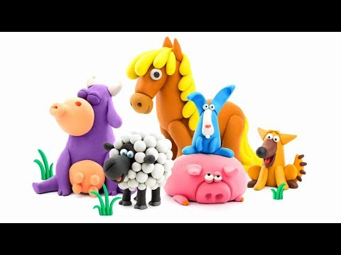Hey Clay Animals - How to model Clay Animals 🐖 DIY App for Kids