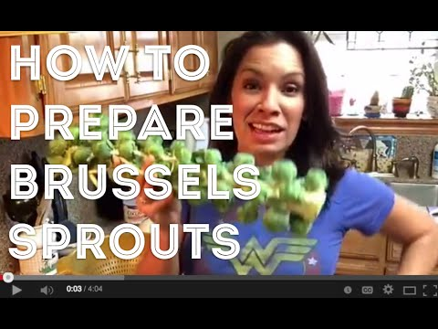 How To Take Brussels Sprouts From Stalk To Plate  #Easy #Fall #Recipe